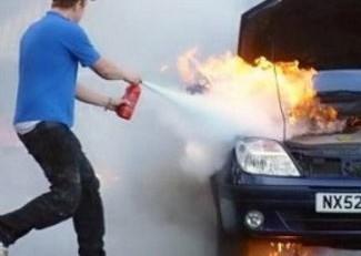quy định lắp bình cứu hỏa trên xe ô tô
