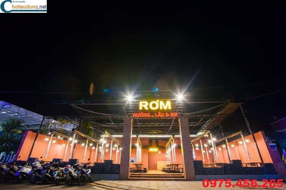Nhà hàng Rơm chuyên lẩu nướng không khói tại Châu Đức - Bà Rịa Vũng Tàu