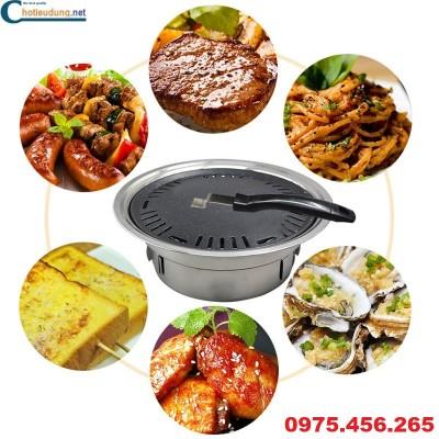 bếp nướng không khói tại bàn giá rẻ nhất tại hà nội