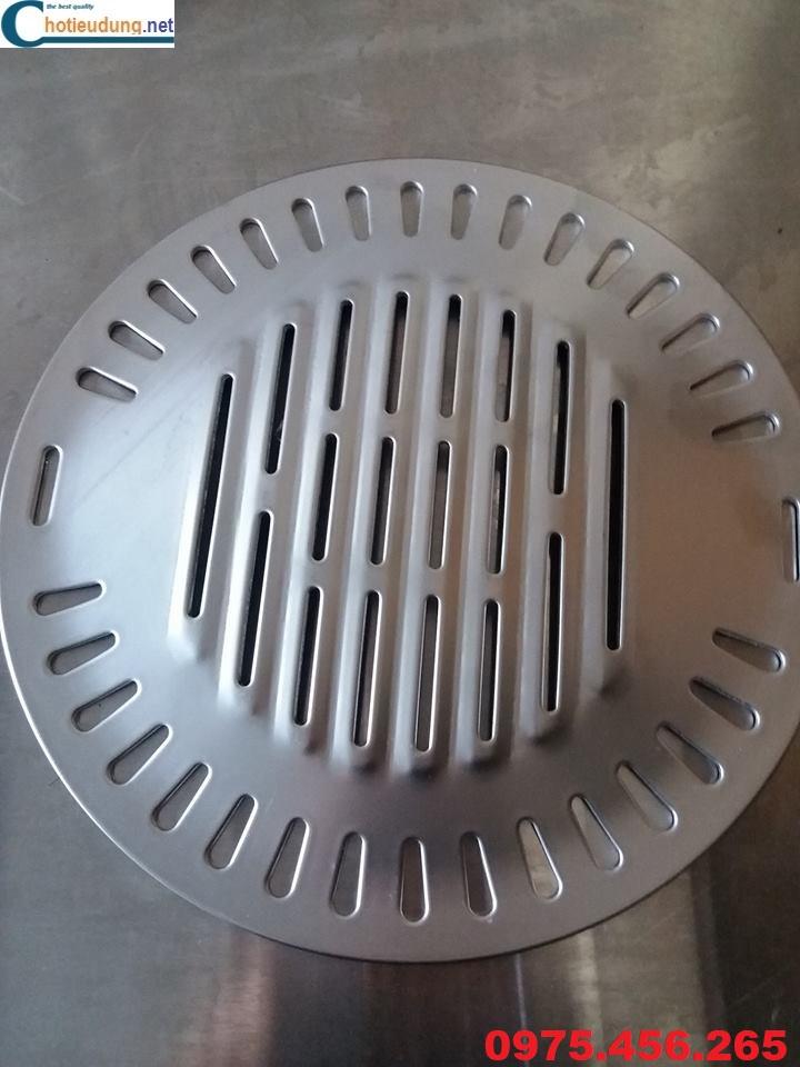 vỉ nướng thịt bếp nướng than hoa không khói
