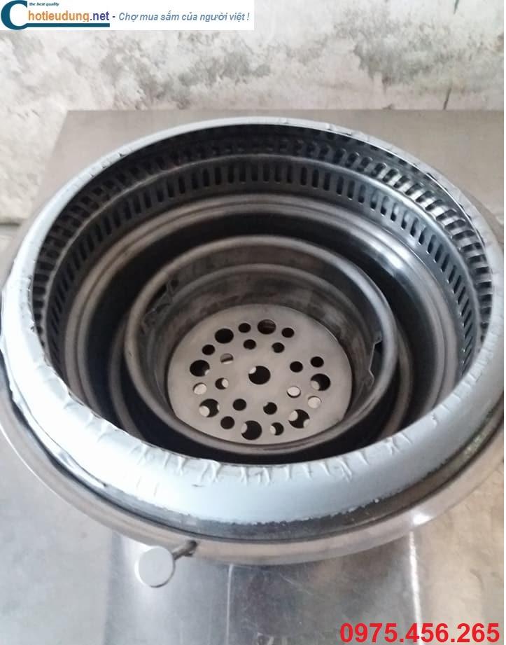 bếp lẩu nướng than hoa không khói tại hà nội