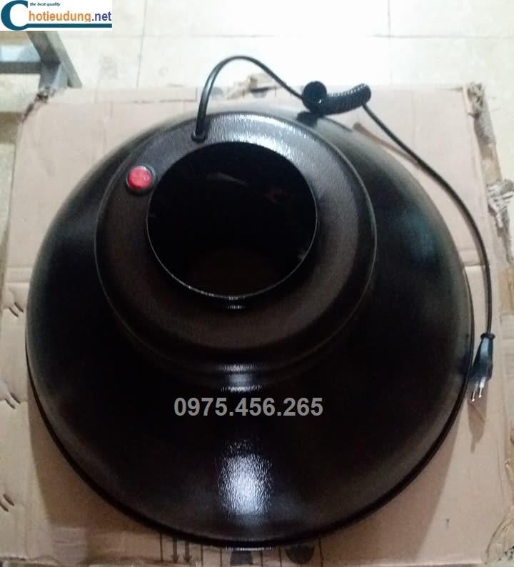 chao đèn ống hút khói bếp nướng