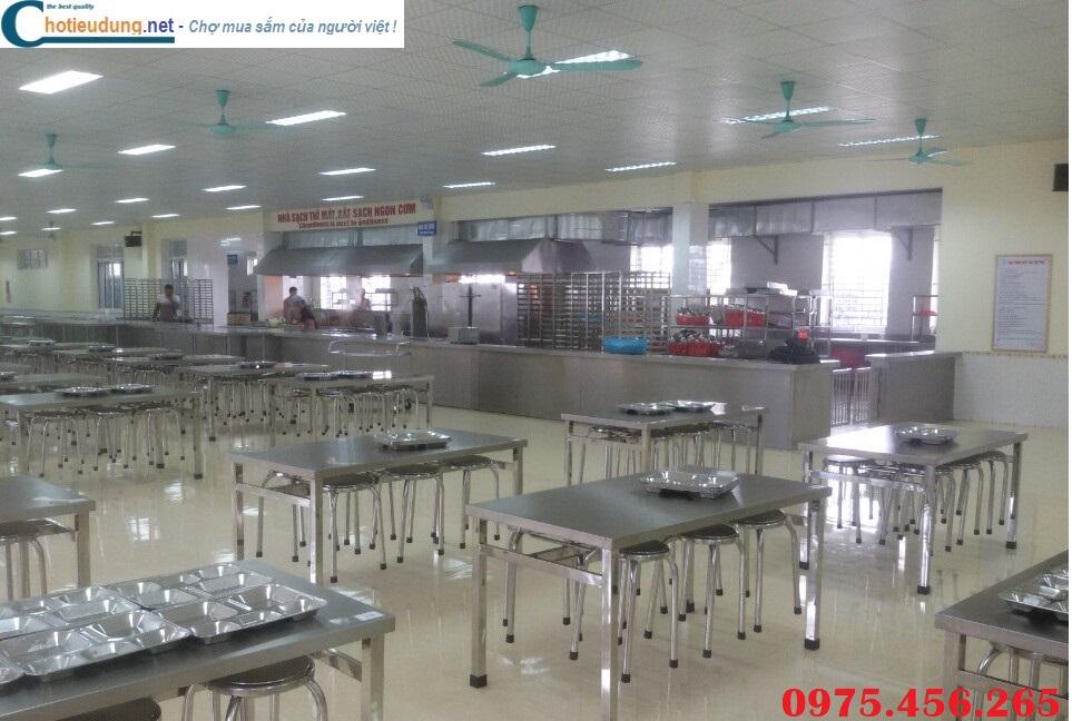 Bàn ăn inox nhà máy chất lượng cao tại hà nội