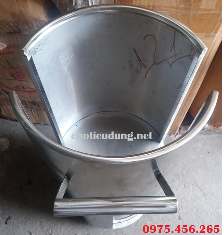 xe đẩy vỉ nướng cho nhà hàng bằng inox chất lượng cao tại hà nội