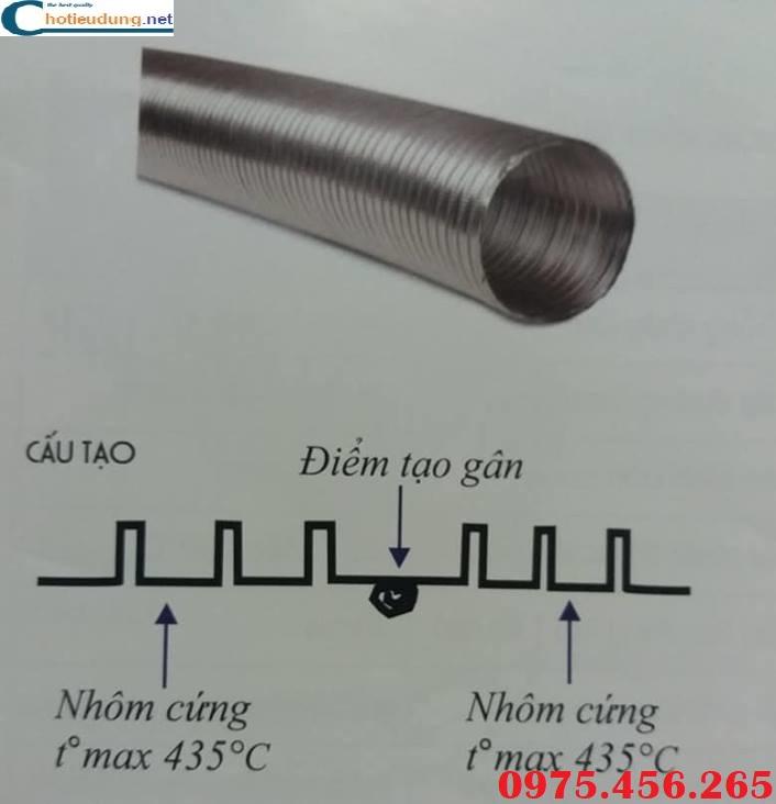 Cấu tạo của ống nhôm nhún