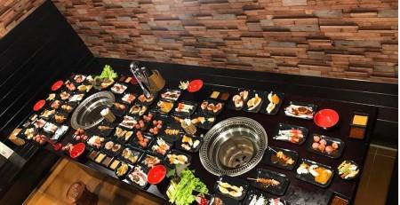 bếp nướng than hoa âm bàn giá rẻ , bếp lẩu nướng than hoa không khói tại hà nội