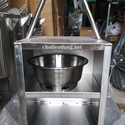 Xách xô than bếp nướng than hoa không khói , xách chậu than hoa bếp nướng nhà hàng giá rẻ nhất