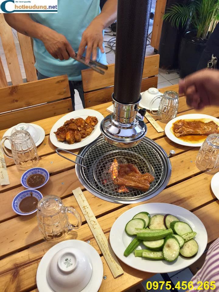 bếp nướng không khói tại bàn