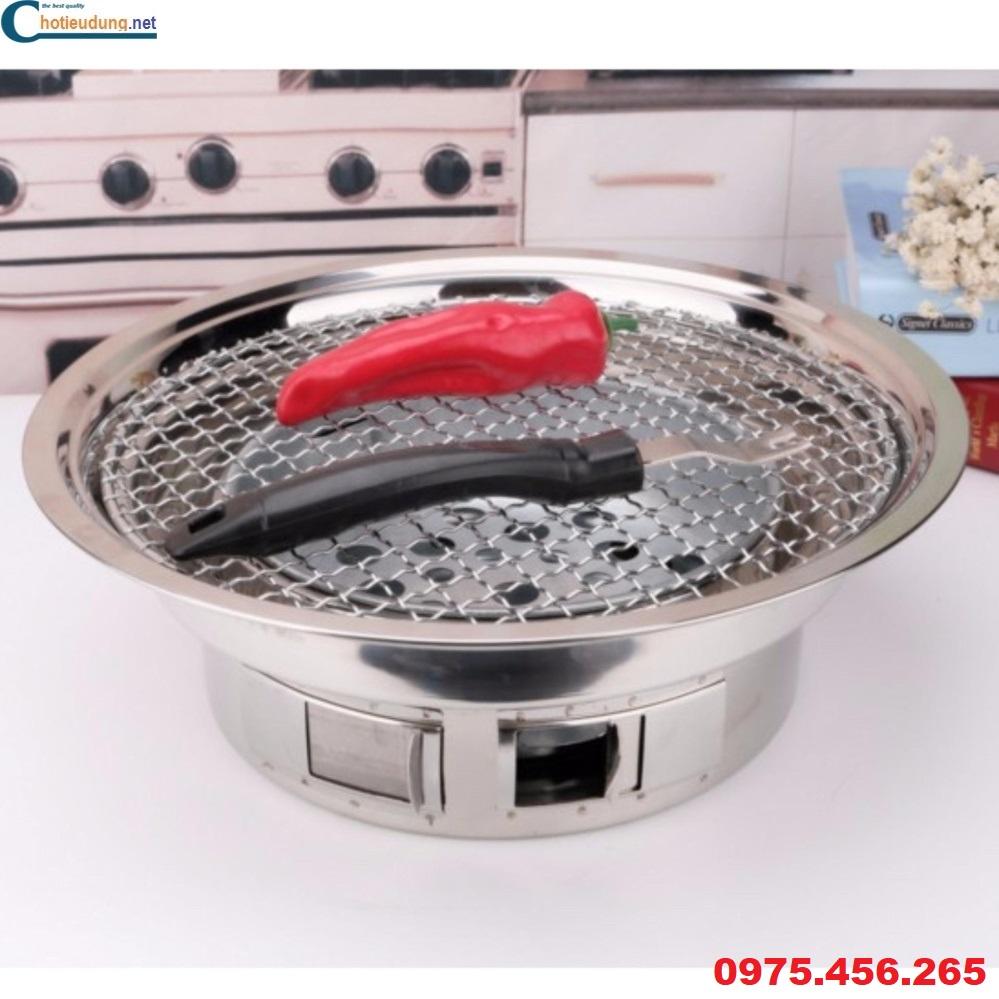 bếp nướng không khói hút dương tại bàn