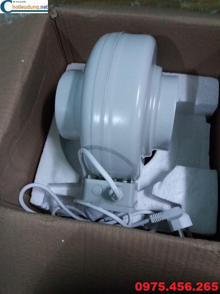 quạt thông gió nối ống giá rẻ nhất tại hà nội