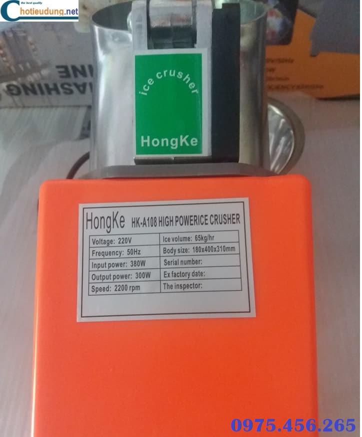 Thông số kỹ thuật của máy bào đá tuyết hongke màu cam nhạt