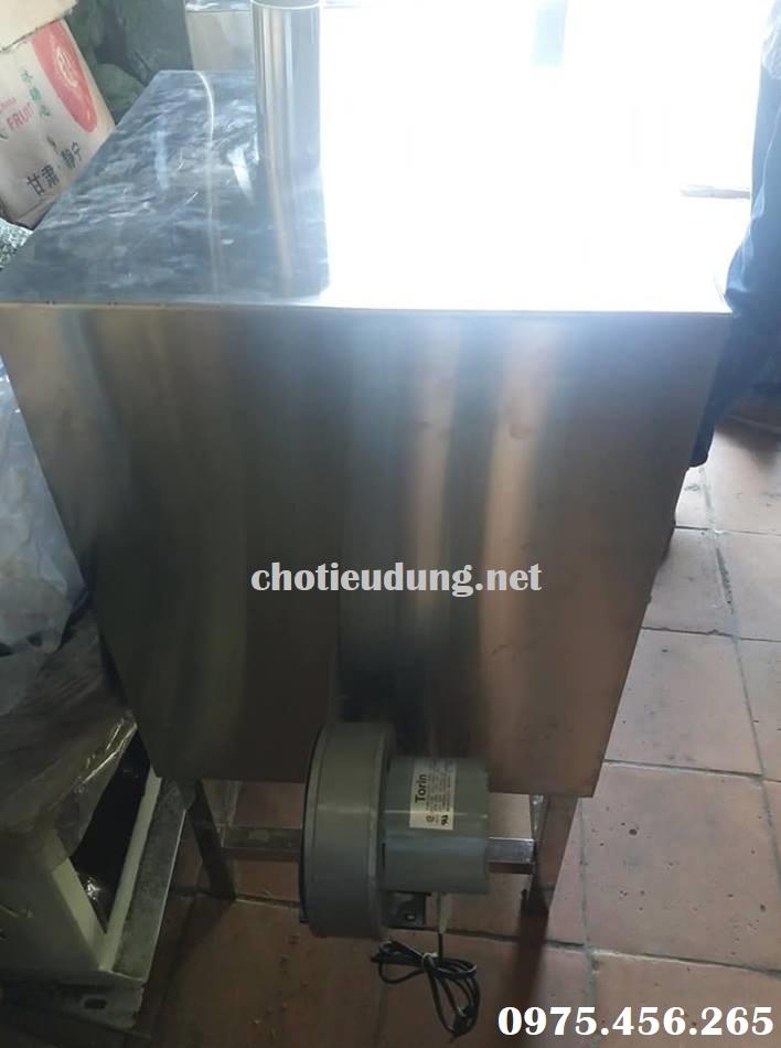Mô tơ lò ủ than và mồi than hoa cho nhà hàng