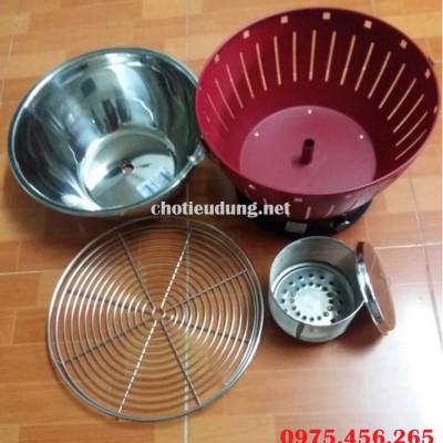 Các bộ phận của bếp nướng than hoa gia đình