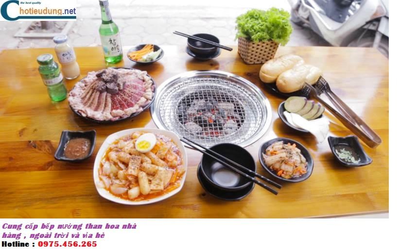 Bếp nướng than hoa nhà hàng , phân phối bếp nướng than hoa ngoài trời và vỉa hè giá rẻ nhất tại hà nội