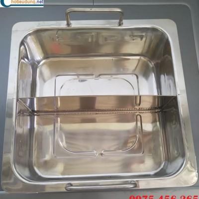 Nồi lẩu inox 2 ngăn tại hà nội , sản xuất và phân phối nồi lẩu 2 ngăn cho nhà hàng giá tốt nhất