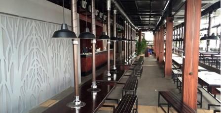 Thi công hệ thống ống hút khói bếp nướng tại bàn giá rẻ , bếp nướng than hoa không khói âm bàn hút dương tại hà nội