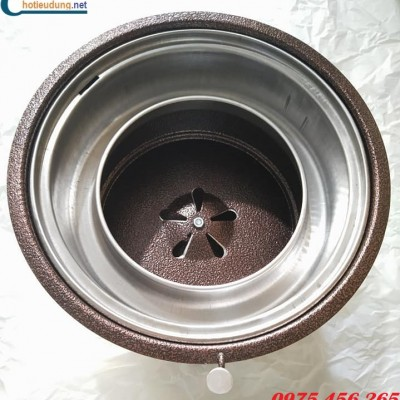 Bán bếp nướng than hoa không khói bằng sắt giá rẻ nhất