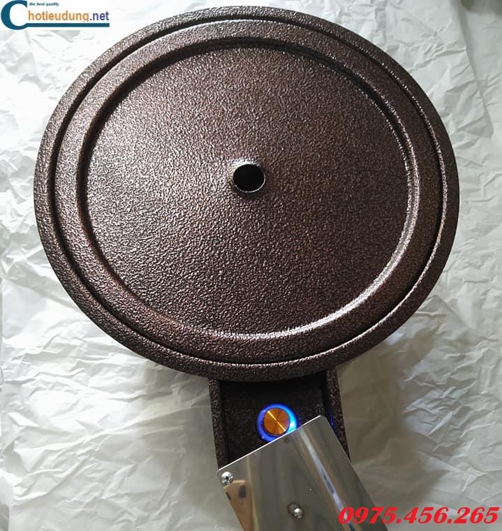 Bếp nướng than hoa hút dương bằng sắt có quạt thổi than giá rẻ nhất
