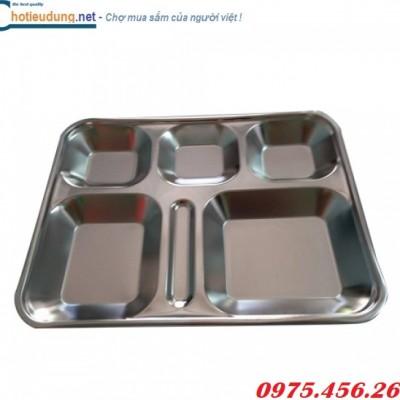 Khay cơm inox 304 cho công nhân nhà máy giá tốt nhất tại hà nội