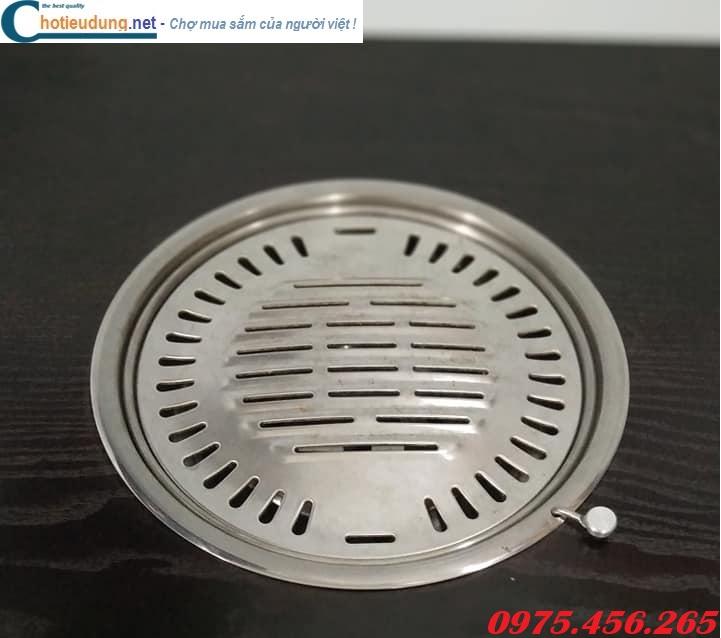 Vỉ nướng than hoa inox 304 đúc lỗ cho bếp nướng nhà hàng giá rẻ tại hồ chí minh