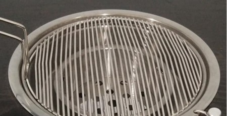 Vỉ nướng than hoa inox 304 sóng ngang cho bếp nướng giá rẻ nhất tại hà nội