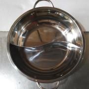 Bán nồi lẩu inox 2 ngăn tròn kích thước 27cm giá rẻ nhất