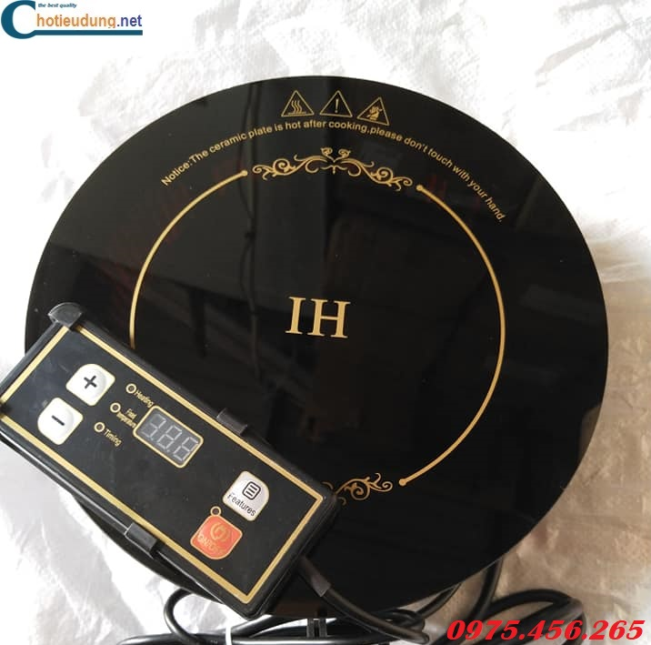 Bếp lẩu từ âm bàn tròn IH công suất 1200W giá rẻ nhất tại Hà Nội