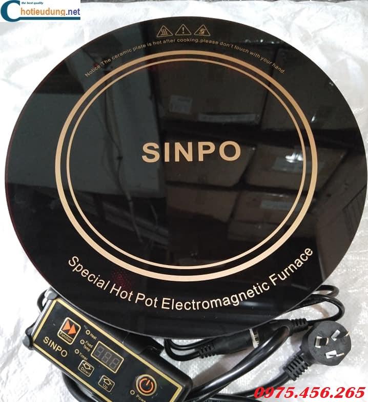 Bếp lẩu từ âm bàn tròn Sinpo công suất 2000W giá rẻ nhất tại Hồ Chí Minh