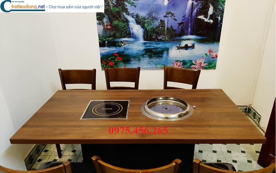 Giá bán bếp từ lẩu âm bàn vuông sinpo 3000W và bếp nướng than hoa âm bàn hút âm tại hà nội