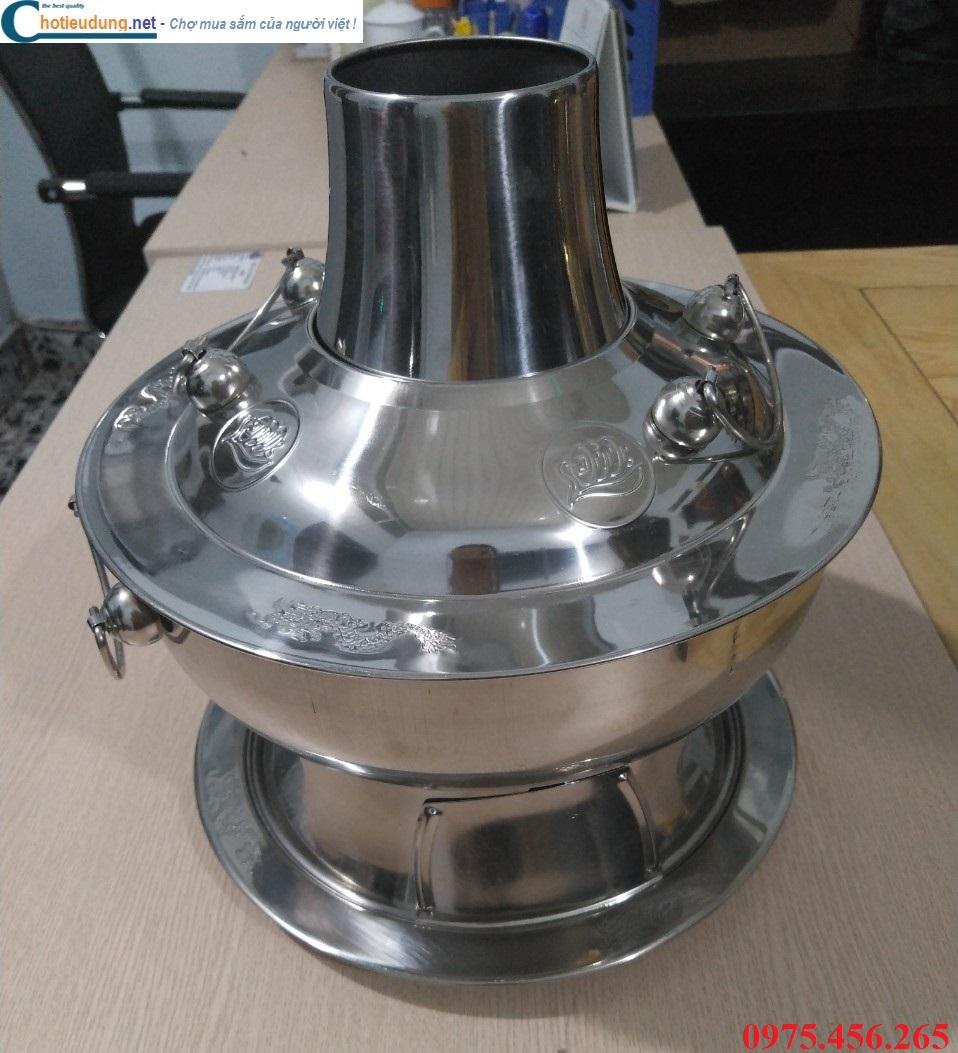 Nồi nấu lẩu cù lao - bếp lẩu cù lao inox 304 giá tốt nhất tại Hồ Chí Minh