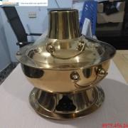 Nồi nấu lẩu cù lao inox mạ vàng chất lượng cao tại Hà Nội